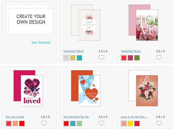 How To Make Your Own Custom Valentine S Day Cards Online Psprint