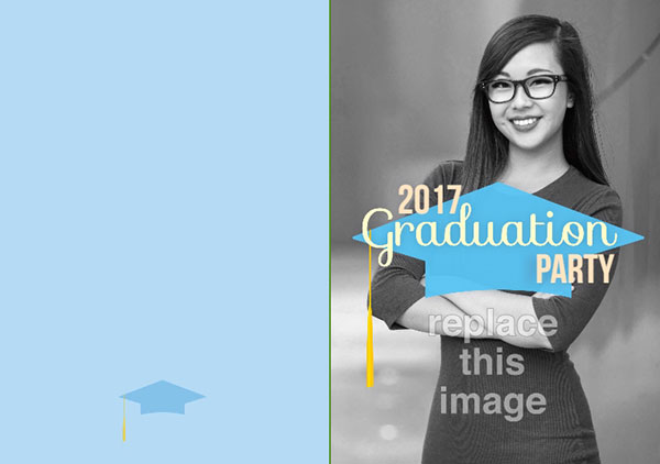 Graduation Announcement Invitation Card Wording Examples Psprint Blog