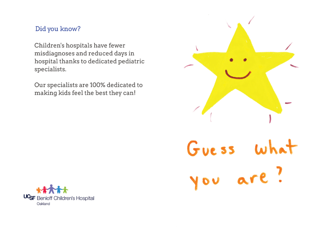 Hot off the press youll love these customer designs psprint blog the art for the cards are all from the hospitals child life services which offers activities to their younger patients to help them adapt to the hospital m4hsunfo