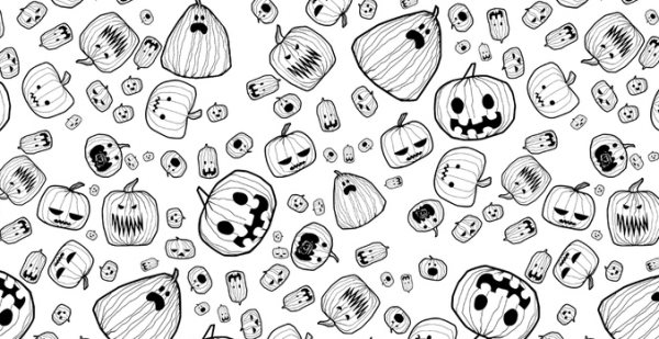Halloween Photoshop pattern
