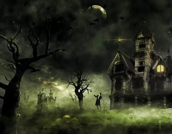 haunted house photoshop tutorial