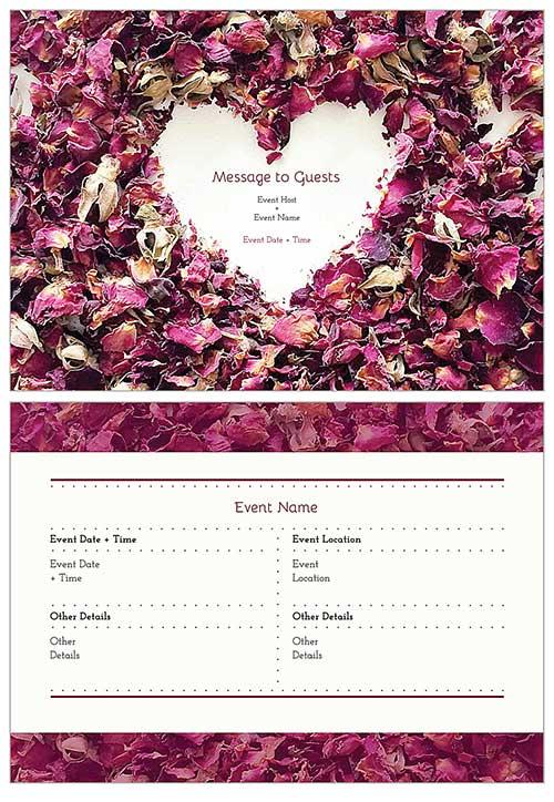 Free Wedding Invitation Templates  Free Invitation Card Templates