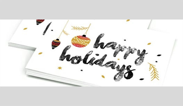 discount holiday card printing
