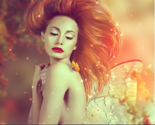 create a fairy in Photoshop