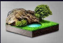 turn landscape into 3D model with Photoshop