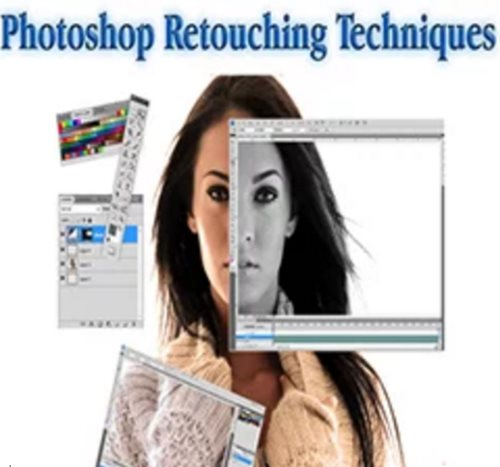 Photoshop retouching techniques tutorial