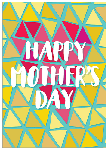 Mother's Day card template free