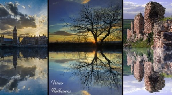 free Photoshop reflections action