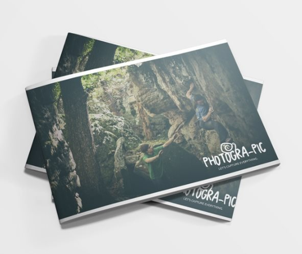 free photographic brochure template