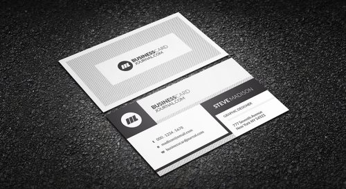 25 new photoshop freebies for may psprint blog designing business card template reheart Images