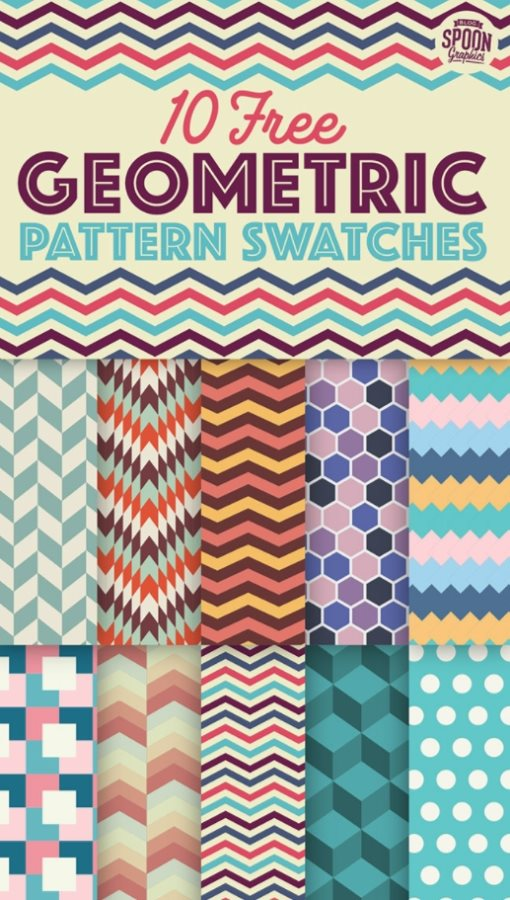 free geometric patterns for Photoshop