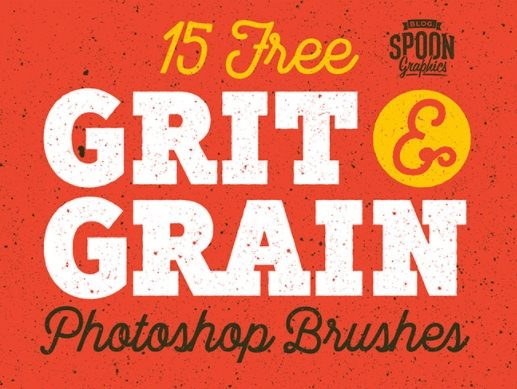 free grit and grain texture set