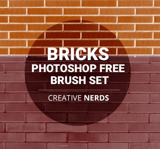 free bricks Photoshop action