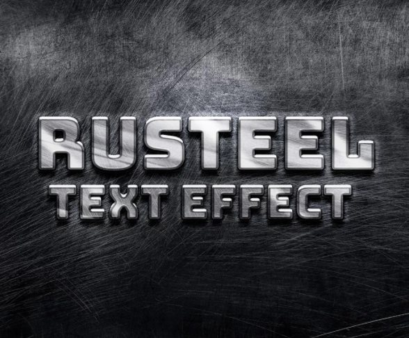 Photoshop text effect