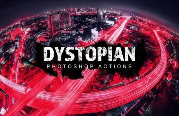 dystopian photoshop actions