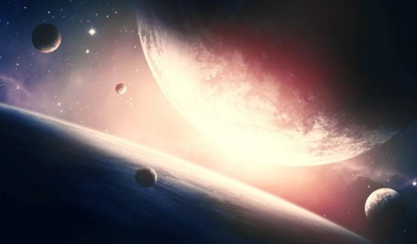 space scene free Photoshop tutorial