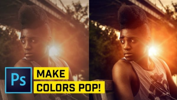 make colors pop