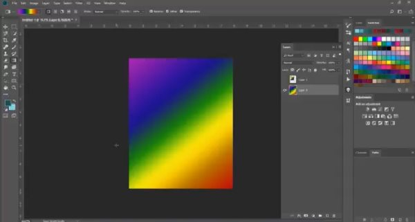 how to blend colors