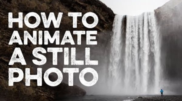 how to animate a still photo in photoshop