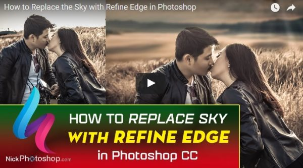 replace the sky photoshop