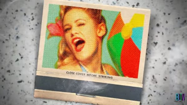 vintage matchbook cover photoshop tutorial