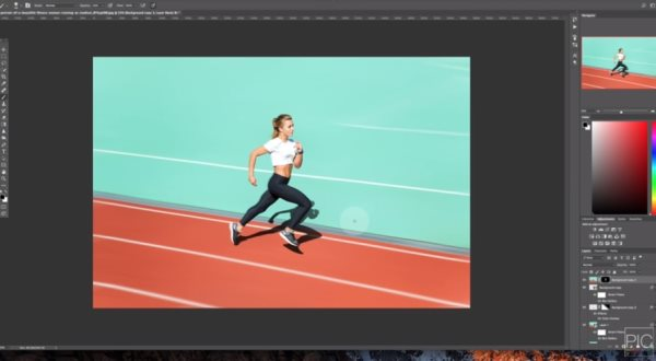 motion blur photoshop tutorial