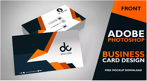 business card photoshop design tutorial
