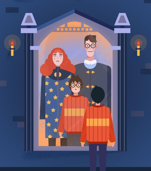 Photoshop Harry Potter illustration tutorial
