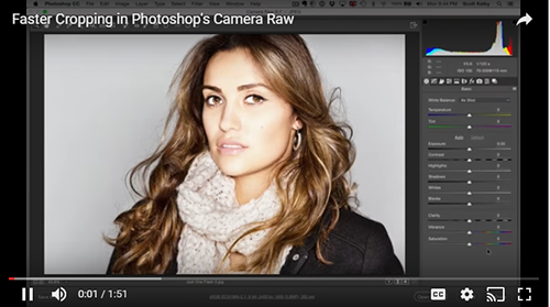 fast photoshop cropping camera raw