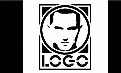 How to photoshop a face logo