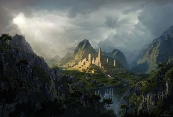 Create an epic digital matte painting tutorial