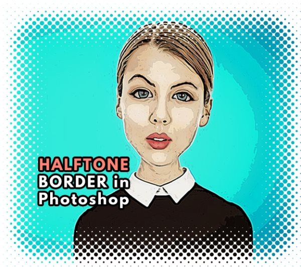 halftone border tutorial