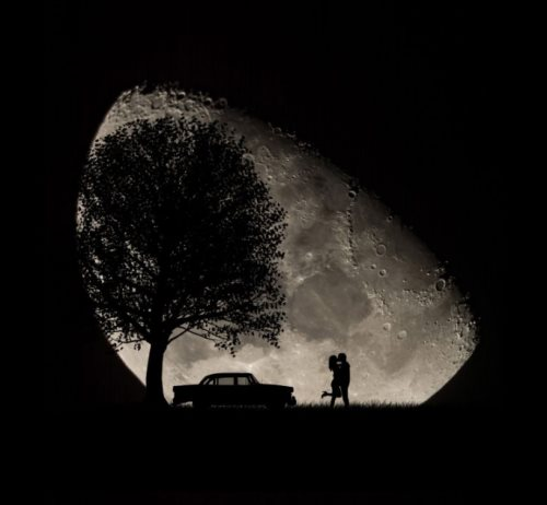 silhouette photomanipulation