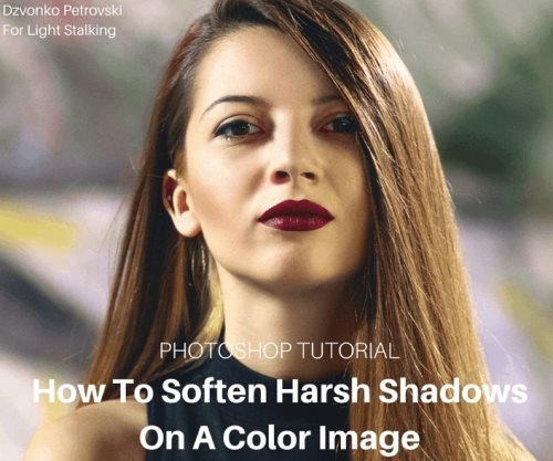 soften Photoshop shadows tutorial