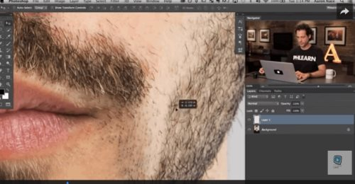 Photoshop beard tutorial