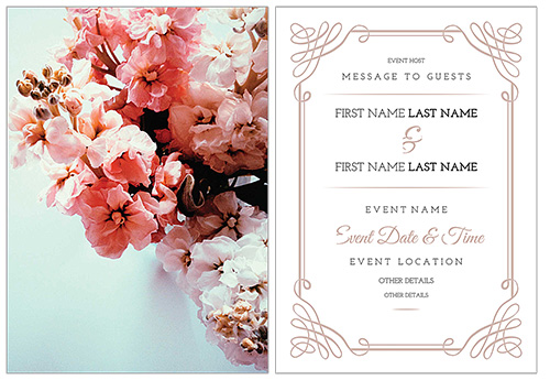 Beautiful Wedding Invitation Templates: 10 Beautiful (and Free) Wedding Invitation Card Templates