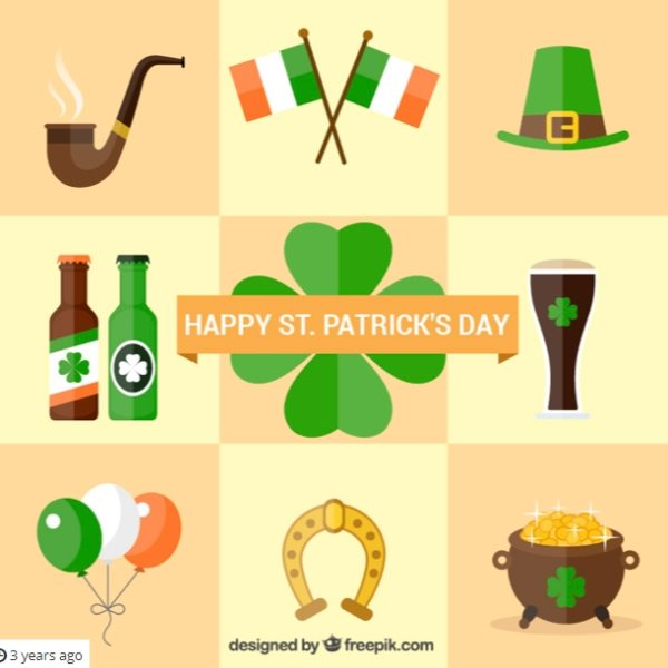 st patrick's day free icons