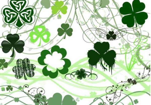 free st patrick's day photoshop brushes