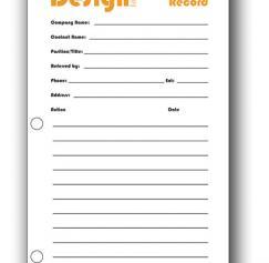 Freelancers: Keep a contact journal