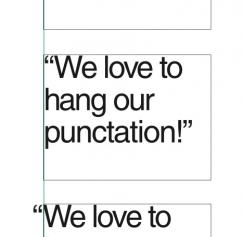 Hanging punctuation in Quark XPress