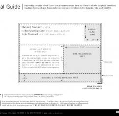 Mailing Regulations for your Postcard Design
