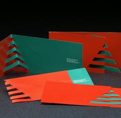 5 Cool Die-Cut Holiday Invitations