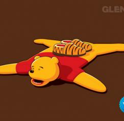 5 Twisted Winnie the Pooh Designs