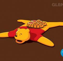5 Twisted Winnie the Pooh Designs