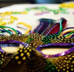 Vintage Mardi Gras Design Inspiration