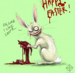 10 Wicked Easter Bunny Designs