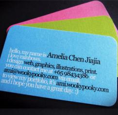 Tips for Using Type on Business Cards: Part 2