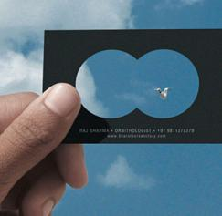 10 Great Die-cut Business Cards
