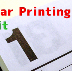 7 Calendar Printing Tips for Profit