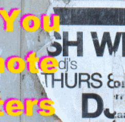 5 Things You Can Promote with Posters